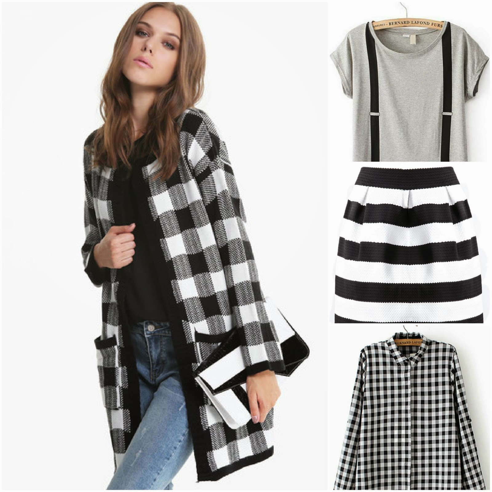 wishlist, sheinside, black and white