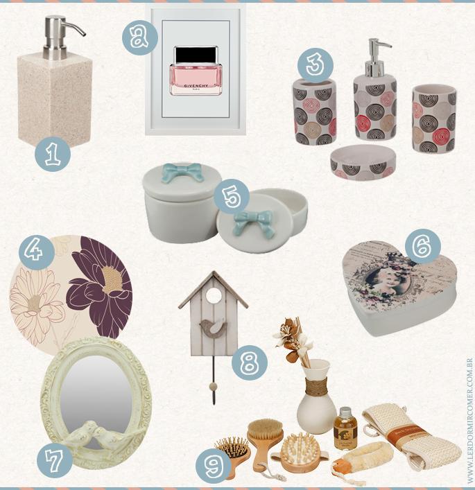 decorar o banheiro : decorar o banheiro: de itens lindos e delicados para decorar o banheiro – Casinha Arrumada