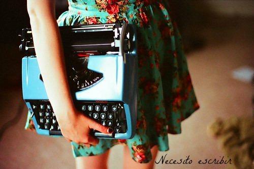 Necesito escribir
