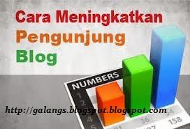 Trik Menaikan Jumlah Pengunjung Ke sebuah website dan Blog