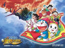 Hình Ảnh Nobita Và Truyền Thuyết Thần Rừng