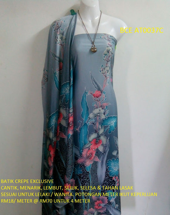 BCE AT0037C: BATIK CREPE EXCLUSIVE
