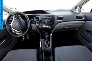 Honda civic car 2013 dashboard - صور تابلوه سيارة هوندا سيفيك 2013