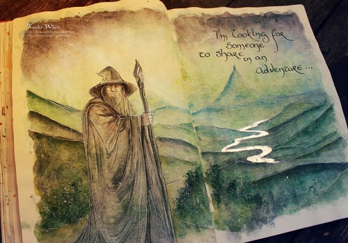 00-Front-Page-Kinko-White-The-Hobbit-Watercolors-www-designstack-co