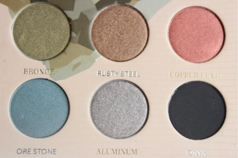 Zoeva Mixed Metals Eyeshadow Palette