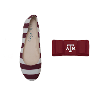 Texas A&M Aggies Flats / Texas A&M University Shoe Clips