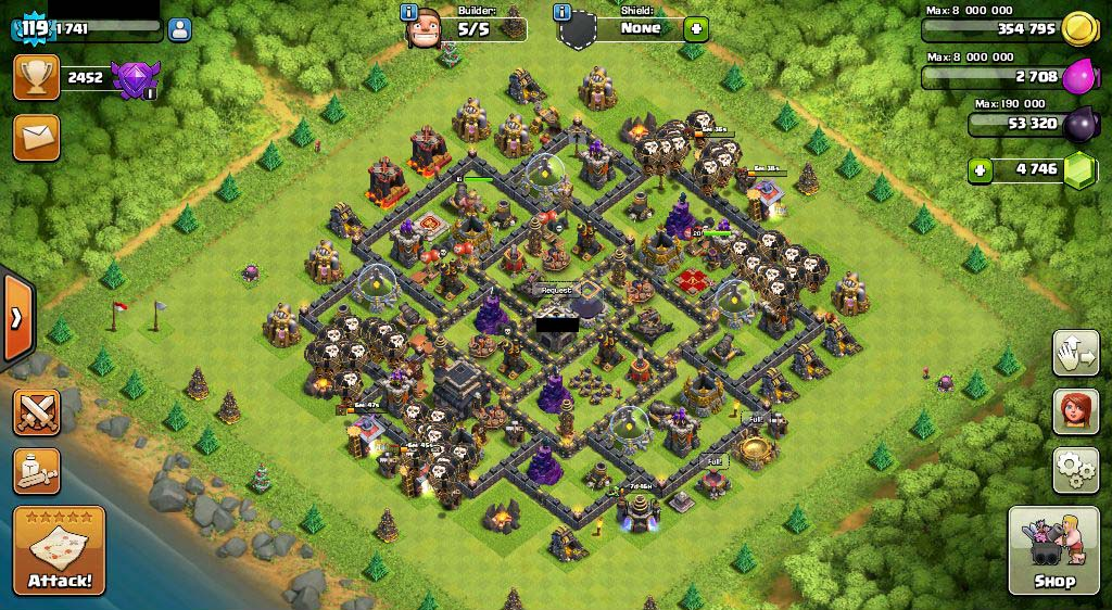 how to buy clash of clans account