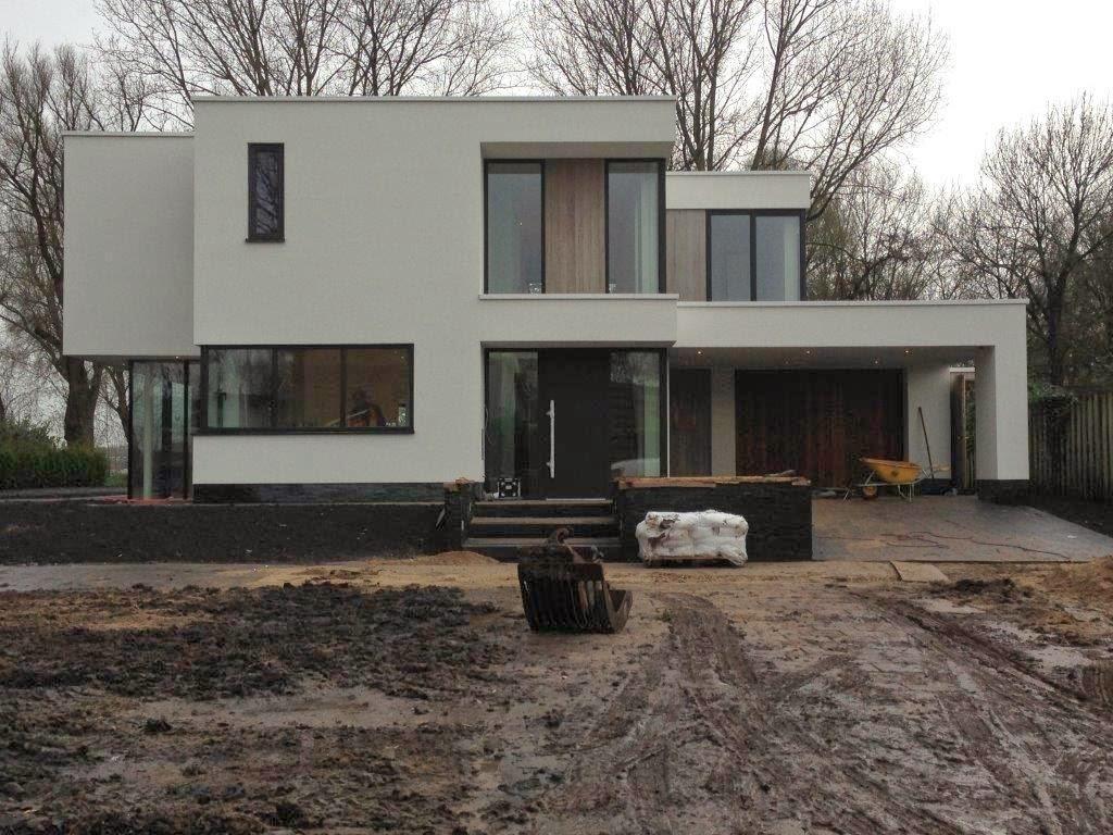 Moderne villa te dordrecht van der padt partners for Moderne villabouw