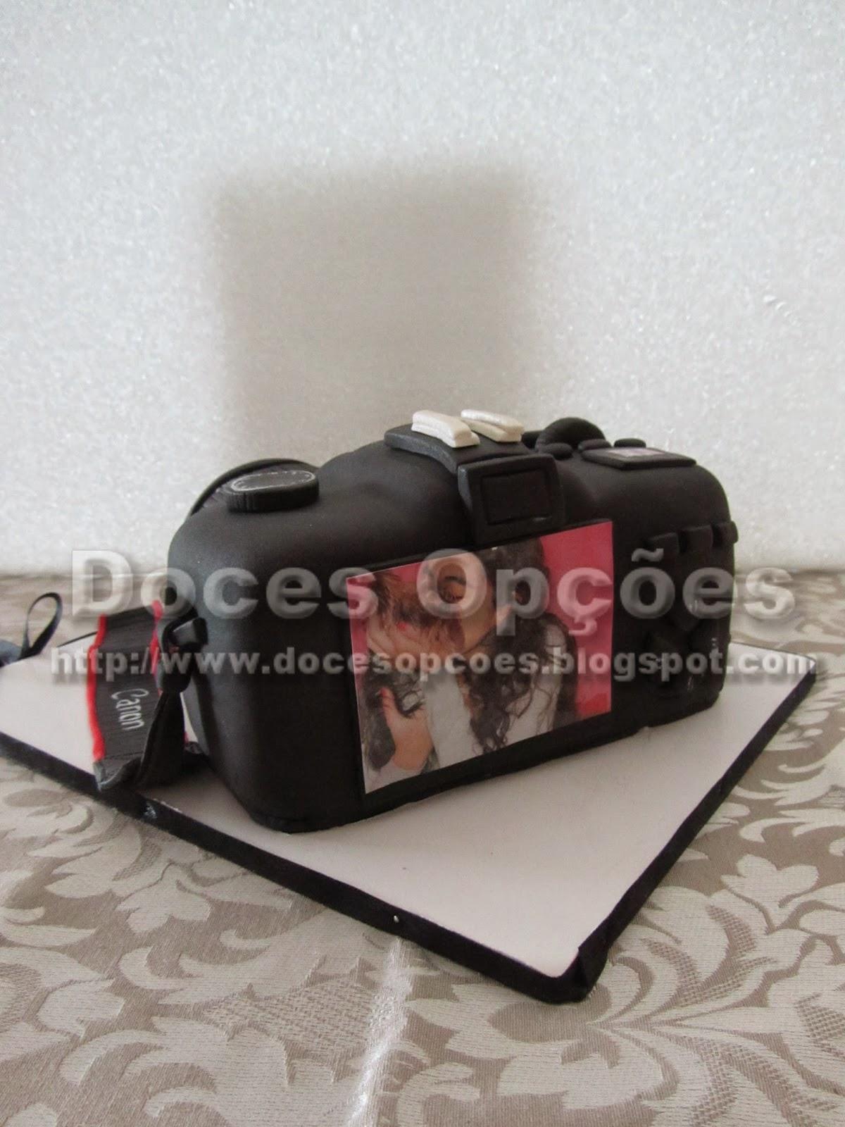 Bolo Máquina fotográfica