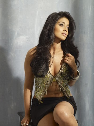 saran cleavage Shriya hot