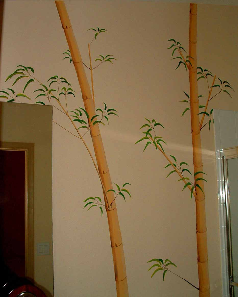 Bamboo mural bamboo products photo for Bamboo mural wallpaper