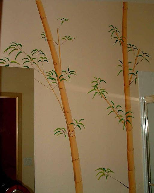 Bamboo Mural2