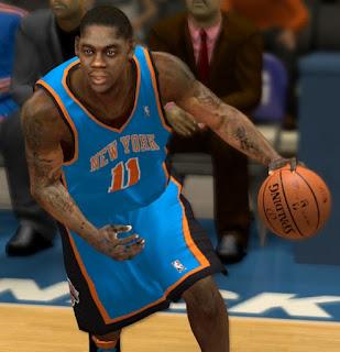 NBA 2K13 Ronnie Brewer Realistic Cyberface