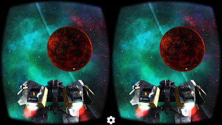 Screenshots of the Deep Space Battle for Android tablet, phone.
