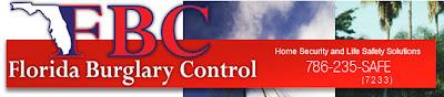 Residential Miami burglar alarm system
