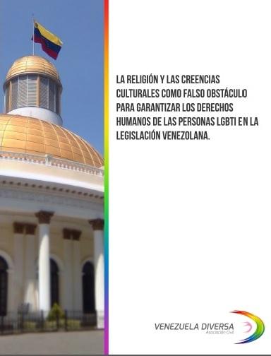 Informe: La religión falso obstáculo para garantizar los derechos humanos de las personas LGBTI.