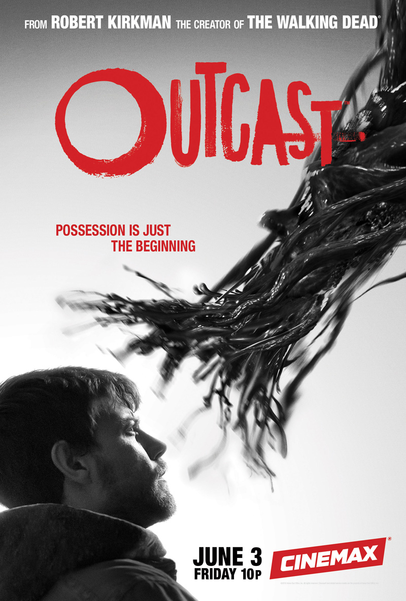 Assistindo e lendo as HQs de Outcast