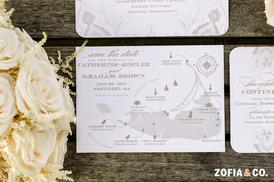 All American Nantucket Wedding
