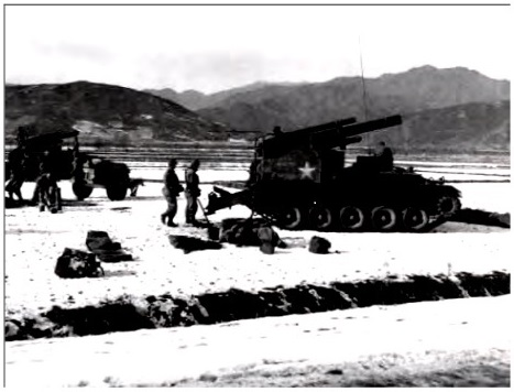 7th Infantry Division assists the 1st Marine Division from the Chosin Resevoir