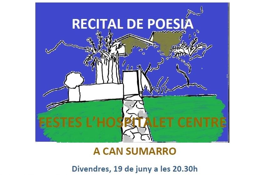 Recital de poesia a l'Hospitalet