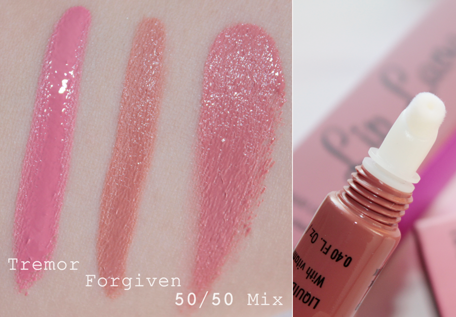 Review Makeup Revolution Lip Lavas - 'Forgiven' and 'Tremor'