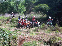 Ratusan Rider Jajal Tantangan di Hutan Wedusan