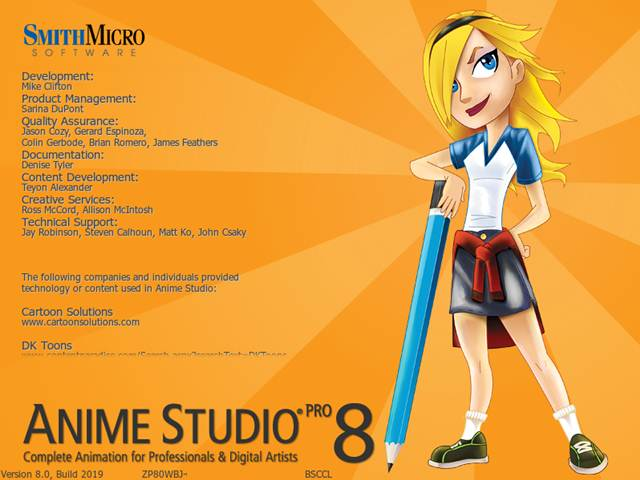 Capturas Anime Studio Pro 8 Español Full Keygen 2012