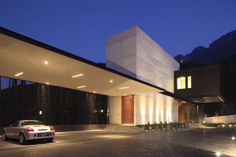 accesos a casas minimalistas - Casas Minimalistas