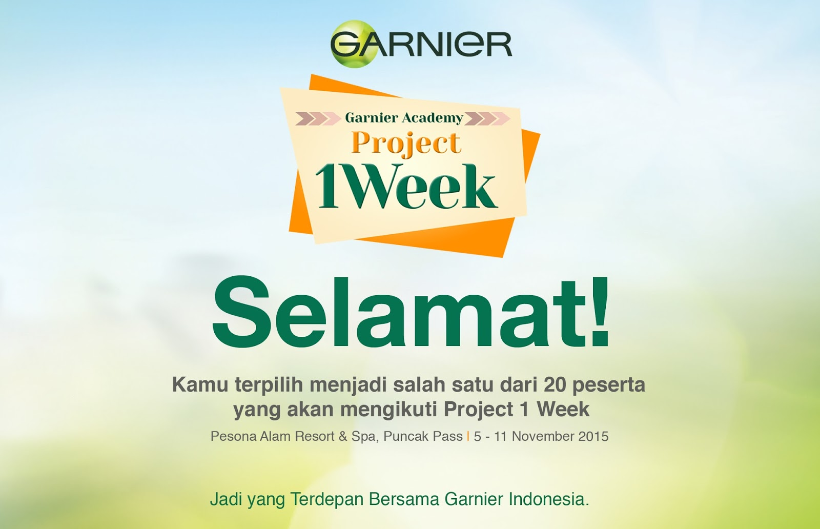 Alumni Garnier Academy Project 1 Week