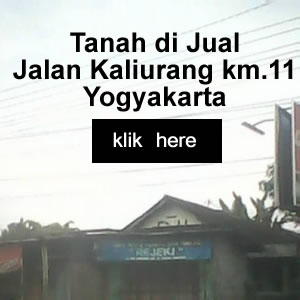 tanah di jual jalan kaliurang jogja