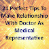 21 Perfect Tips To Make Relationship With Doctor As Medical Representative