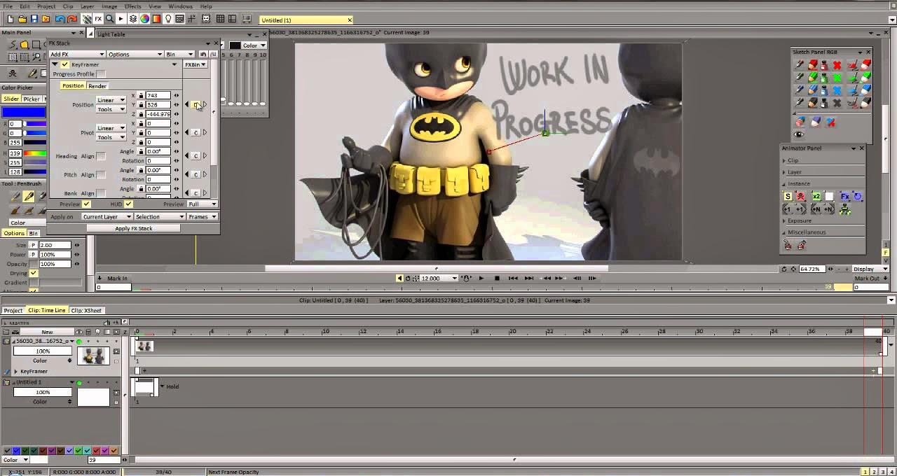CANDELA pro ©: TVPaint Animation 10.0.16 PRO (32 Bit)