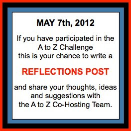 May 7th A to Z Reflections Post