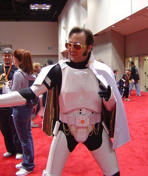 storm trooper elvis cosplay