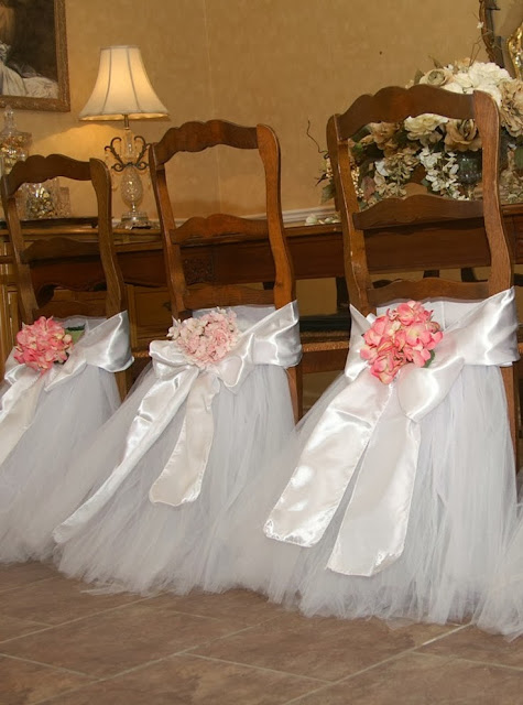 DIY Wedding: Chair Decoration.