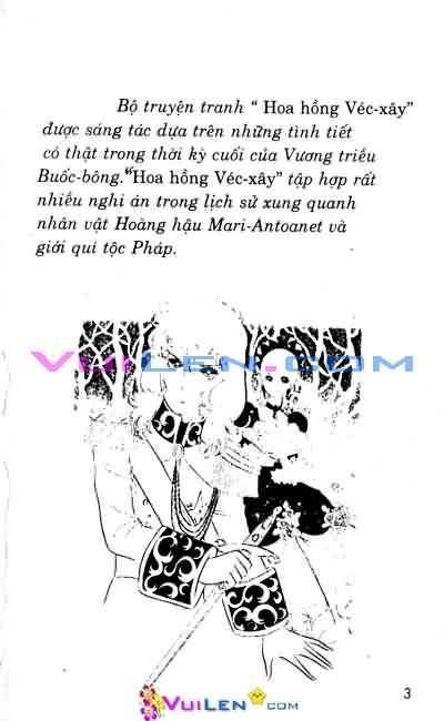 Hoa Hồng Véc-Xây Chapter 5 - Trang 2