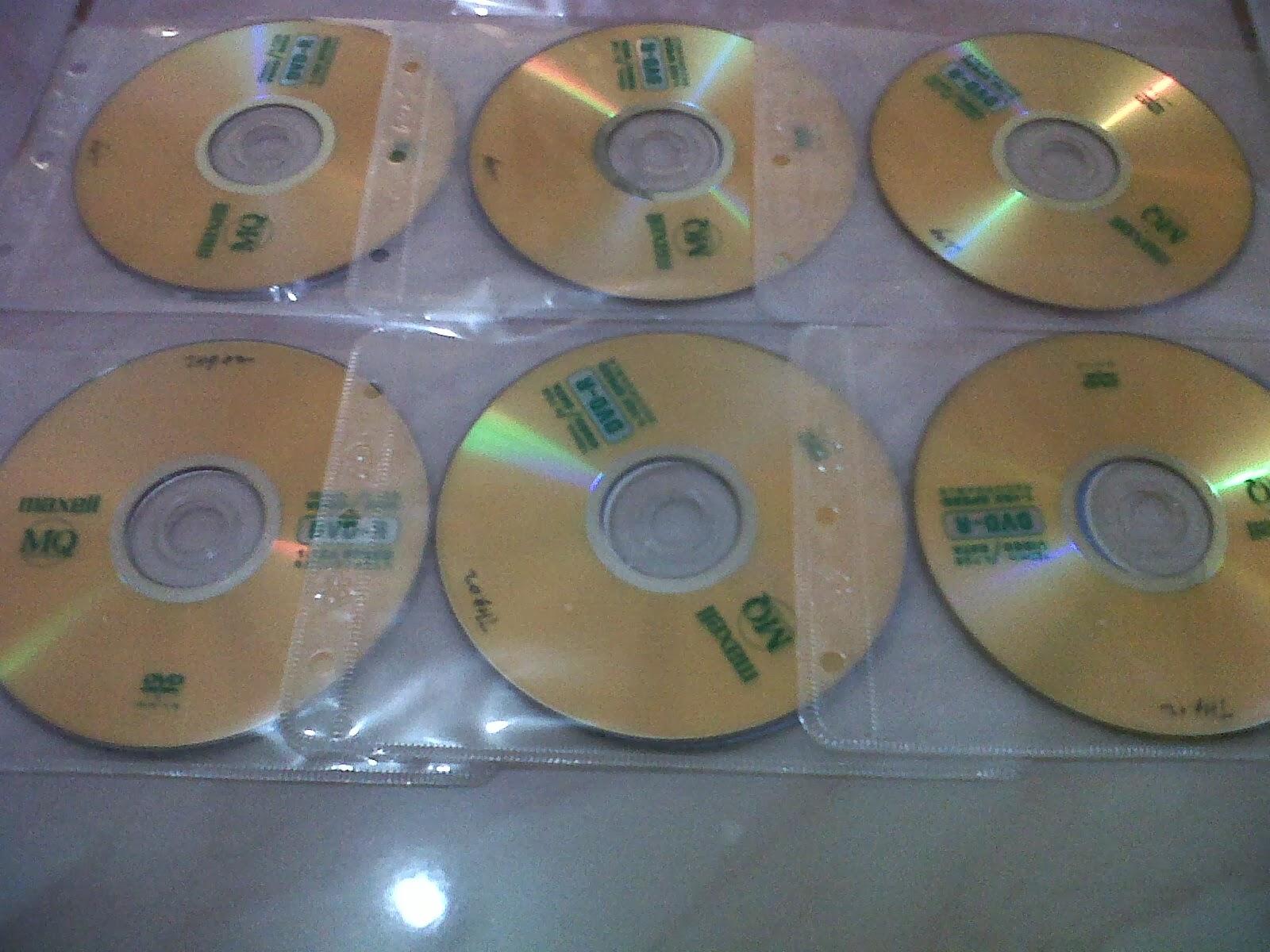 MEDIA MAXELL DVD POLOS TANPA COVER