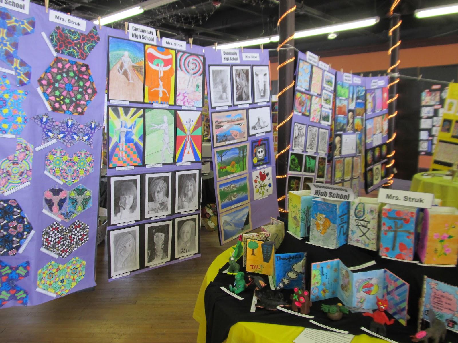 Art teacher creature student art show 2012 for Art craft shows