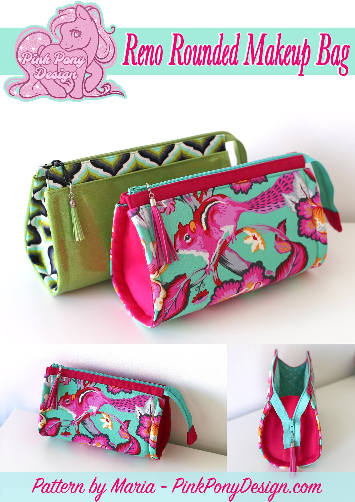 Reno Rounded Makeup Bag