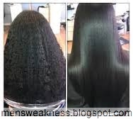 How To Change Curly Hair To Straight Hair Permanently How