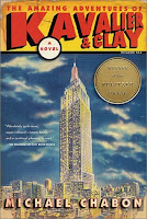 Cover of The Amazing Adventures of Kavalier and Clay by Michael Chabon