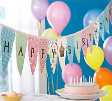 Party Decorations For Birthday