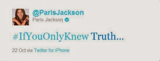tweets paris jakson illuminati mason