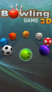 Screenshots of the Bowling game 3D for Android tablet, phone.