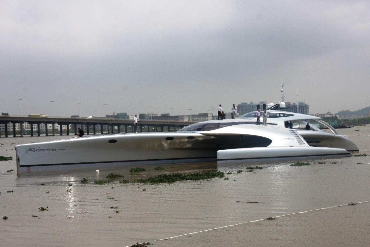 Adastra Yacht Trimaran 2