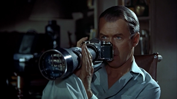 Rear Window, directed by Alfred Hitchcock