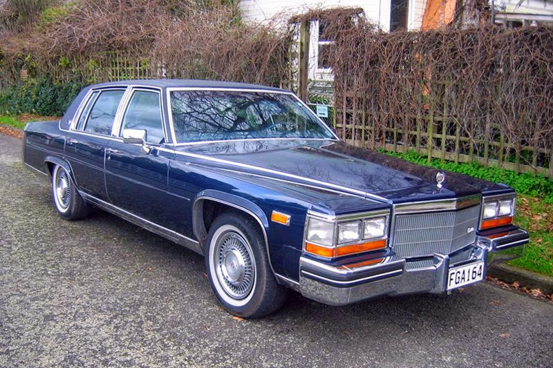 transpress nz 1984 cadillac fleetwood brougham. Cars Review. Best American Auto & Cars Review