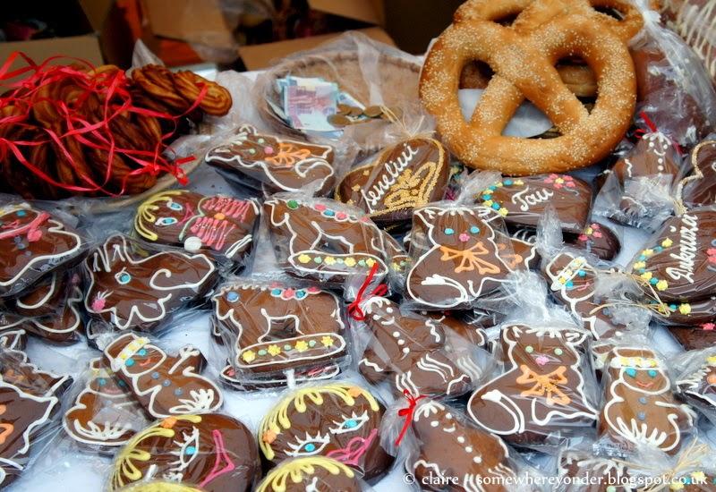 Gingerbread cookies - Užgavénés - Vilnius, Lithuania