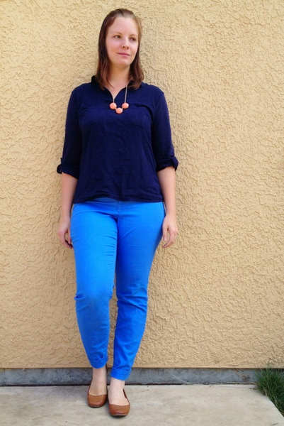 Stay-At-Home Mom Style: Blue