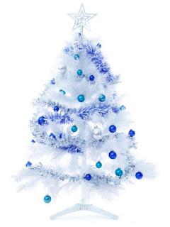Pohon natal, pohon natal sederhana dan cantik, pohon natal cantik, pohon natal sederhana, desain pohon natal, pohon natal putih, pohon natal biru, gambar pohon natal